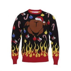 Den Flamberede Julesweater